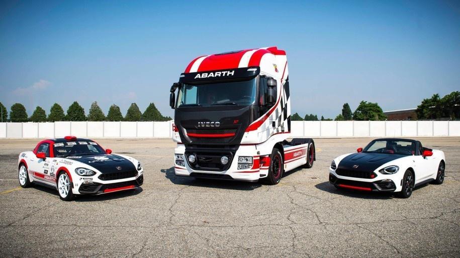Abarth создал «спортивный» грузовик